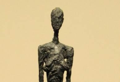 Alberto Giacometti, Femme de Venice (particolare)