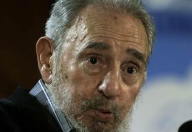 Fidel Castro, foto Ansa