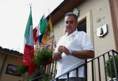 Luca Sellari, sindaco di Filettino
