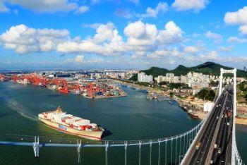 La provincia di Fujian in Cina