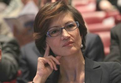 Il ministro dell'Istruzione Mariastella Gelmini (Ansa)