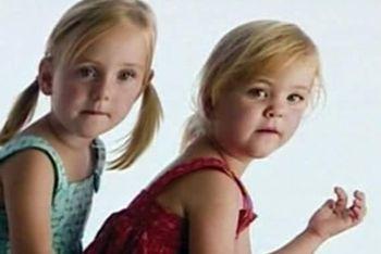Le gemelline scomparse (Foto: Ansa)
