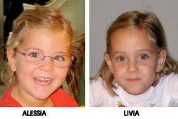 Le gemelline scomparse, foto Ansa