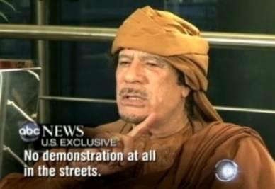 Muhammar Gheddafi (Ansa)