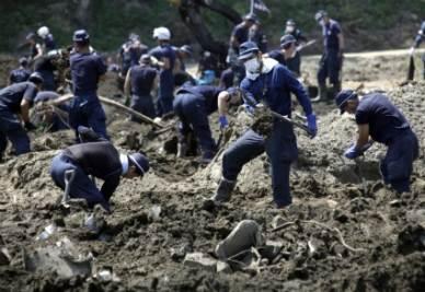 Ricerche dei dispersi in Giappone