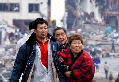 Dopo lo tsunami (Ansa)