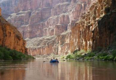 Il fiume Colorado nel Grand Canyon National Park dell'Arizona