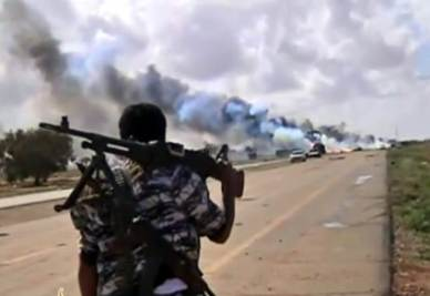 Uno scenario libico (Foto: ANSA)