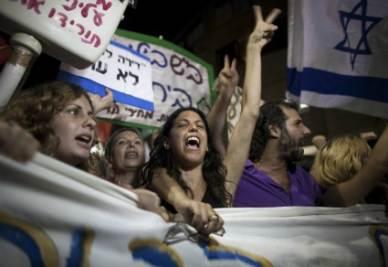Gli indignados di Tel Aviv