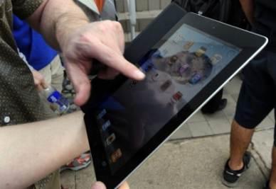 iPad2, foto Ansa