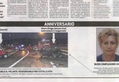 L'immagine sul Giornale di Vicenza