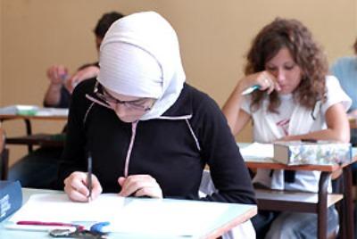 Studenti islamici a scuola