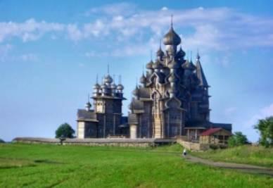 L'Isola di Kizhi in Russia