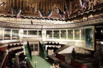 Il parlamento di Torino dove venen dichiarata l'Unità d'Italia, Ansa