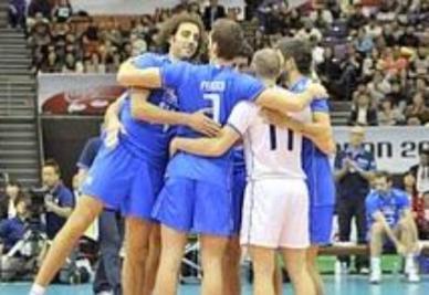 L'Italia del volley è ancora festante, ma oggi c'è la Cina (Foto: ANSA)