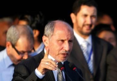 Mustafa Abdel Jalil, presidente del Cnt (Foto Ansa)