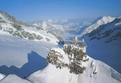 Una panoramica dello Jungfrau in Svizzera