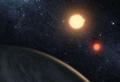 Una immagine artistica del nuovo pianeta