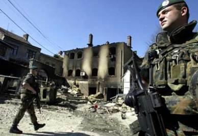 Truppe della Nato in Kosovo