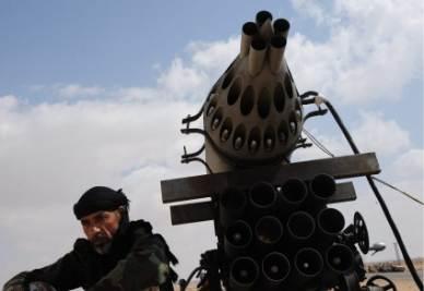 Un lanciamissili in Libia (Foto: ANSA)
