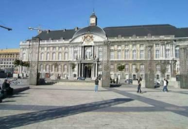 La piazza dove è avvenuto l'attacco terroristico
