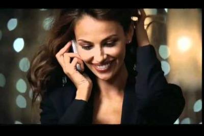 Madalina Ghenea nello spot televisivo