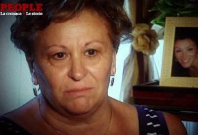 La mamma di Melania Rea, foto Ansa