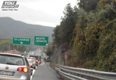 Maltempo in Liguria, chiusura dell'A12