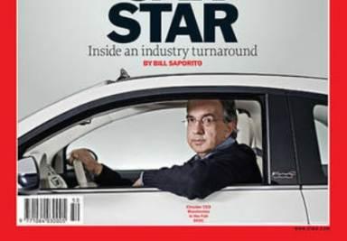 La copertina di Time dedicata a Marchionne