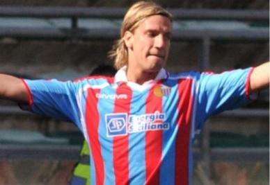 Maxi Lopez, attaccante Catania (Foto: Ansa)