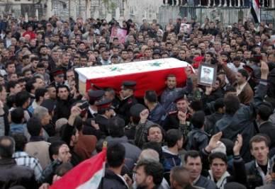 In Siria i cecchini hanno aperto il fuoco sulla folla (Ansa)