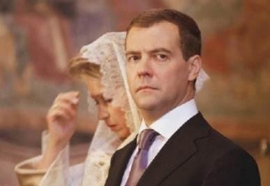 Il presidente russo Medvedev