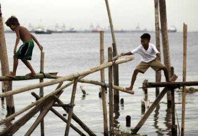 Bambini a Mindanao