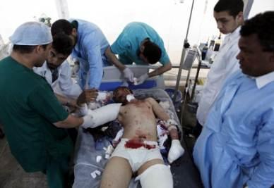 Un civile ferito a Misurata
