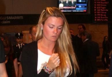 La giovane moglie di Wouter Weylandt