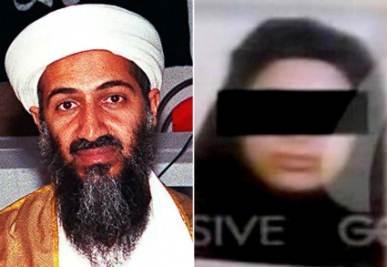 La moglie di Osama, foto Ansa