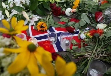 Dopo la strage di Oslo (Ansa)