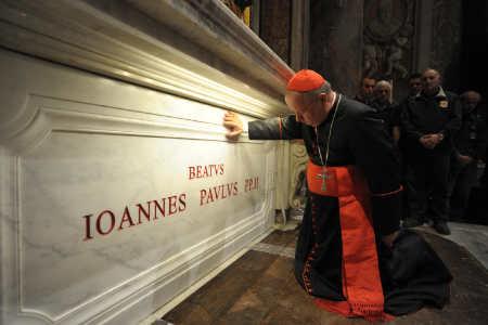 GIOVANNI PAOLO II/ Foto, la nuova tomba nella basilica di san Pietro