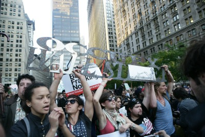 Occupy Wall Street protesters   (photo ANSA)