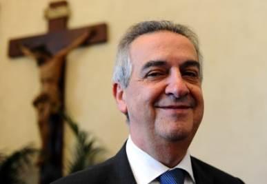 Lorenzo Ornaghi, foto Ansa