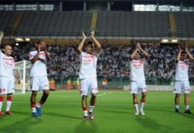 Il Padova negli scorsi playoff (foto Ansa)