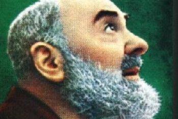 Un'immagine di Padre Pio