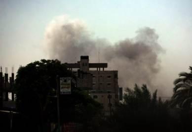 Raid israeliani in Palestina, foto Ansa
