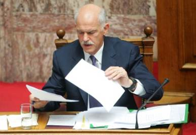 George Papandreou   (photo ANSA)