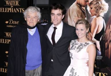La premiere di Water for elephants, foto Ansa