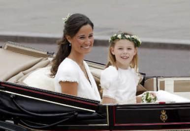 Pippa Middleton (Ansa)