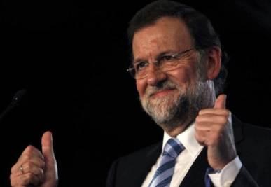 Il nuovo premier spagnolo Rajoy, foto Ansa