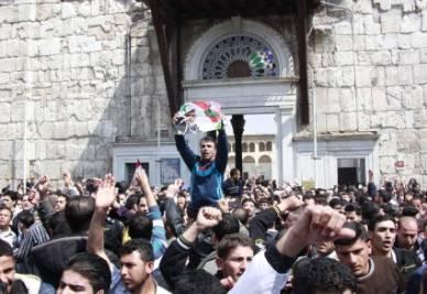 Rivolta in Siria, foto Ansa
