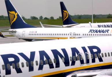 Le richieste di Ryanair (Foto Ansa)