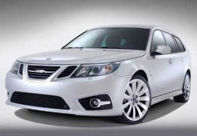 Una vettura Saab